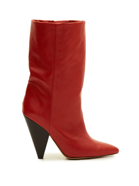 Isabel Marant Lexing leather boots - Mrs Finch, Latest fashion, how to wear styles, celebrity fashion