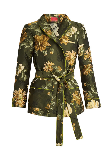 Iride Tie waist floral pyjama jacket - Mrs Finch, Latest fashion, how to wear styles, celebrity fashion