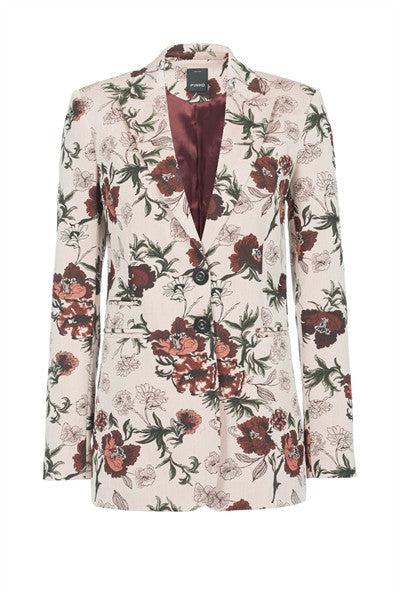 Pinko on trend Floral suit - Mrs Finch, Latest fashion, how to wear styles, celebrity fashion