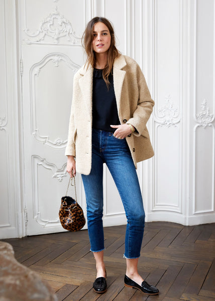 Sezane Manteau Alicia - Mrs Finch, Latest fashion, how to wear styles, celebrity fashion