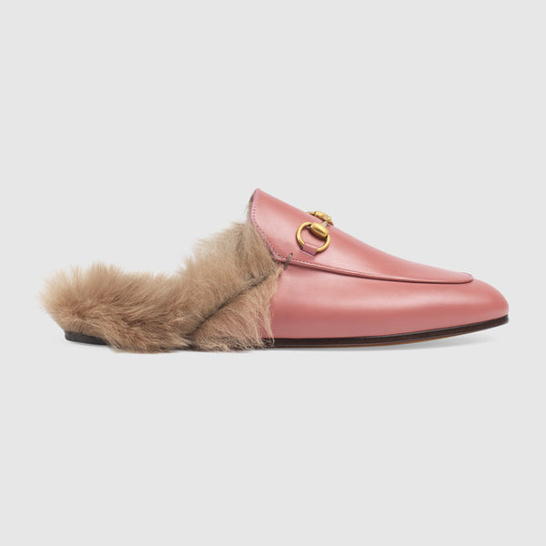 Pink Princetown Leather Slipper - Mrs Finch, Latest fashion, how to wear styles, celebrity fashion