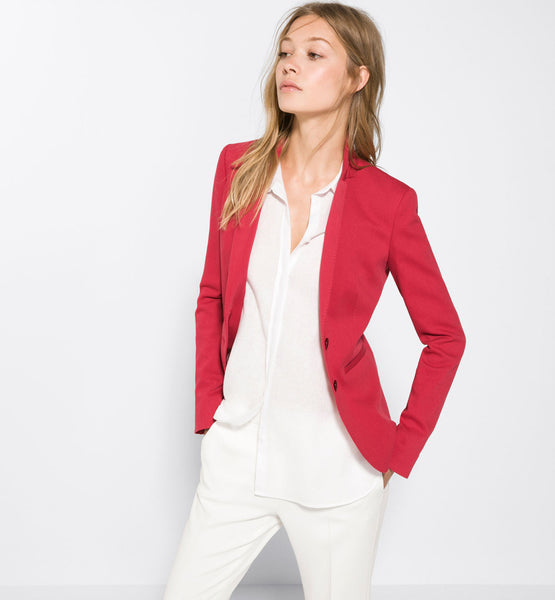 Pique blazer - Mrs Finch, Latest fashion, how to wear styles, celebrity fashion