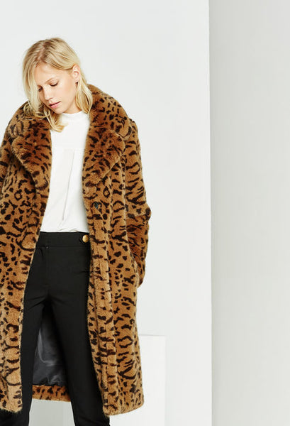 Claudie Pierlot Leopard print coat - Mrs Finch, Latest fashion, how to wear styles, celebrity fashion
