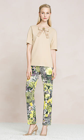Marc Cain pants in jersey - Mrs Finch, Latest fashion, how to wear styles, celebrity fashion