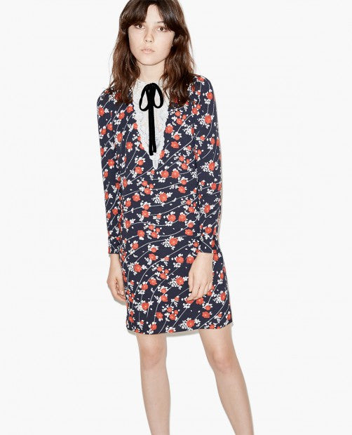 The Kooples print dress - Mrs Finch, Latest fashion, how to wear styles, celebrity fashion