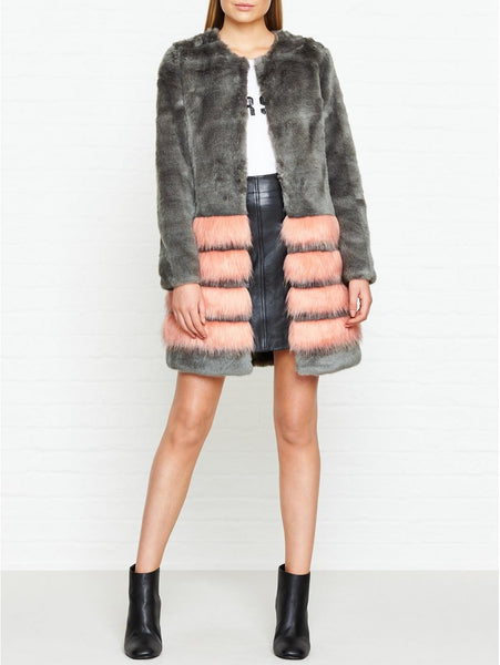 Unreal Fur Tundra Faux Fur Jacket