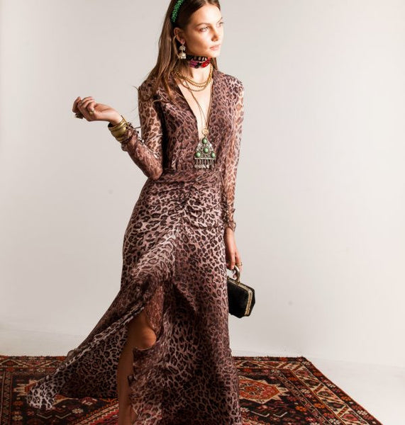 Rixo Leopard print dress - Mrs Finch, Latest fashion, how to wear styles, celebrity fashion