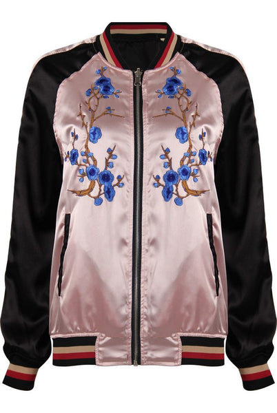 Reversible silk bomber - Mrs Finch, Latest fashion, how to wear styles, celebrity fashion