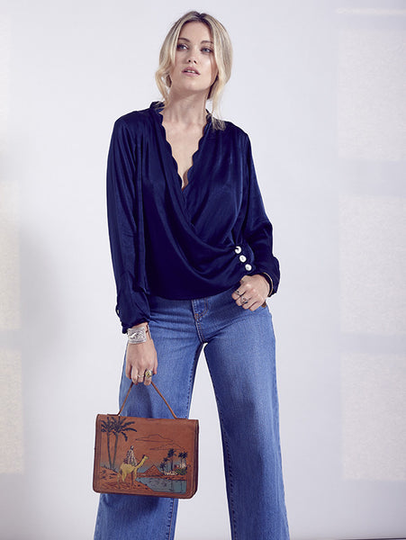 Rixo Florence Blouse - Mrs Finch, Latest fashion, how to wear styles, celebrity fashion