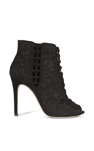 Karen Millen lace shoe boot - Mrs Finch, Latest fashion, how to wear styles, celebrity fashion