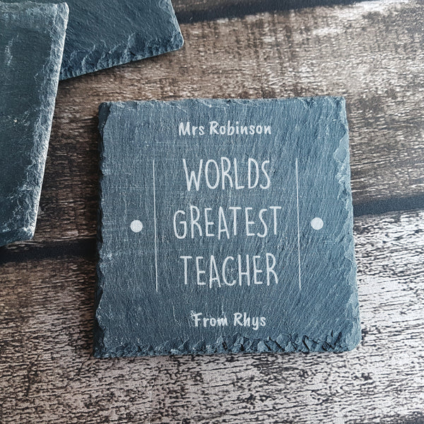 Coaster - Worlds Greatest Teacher