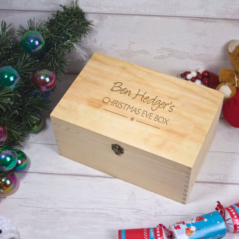 Christmas Eve Box - basic name design