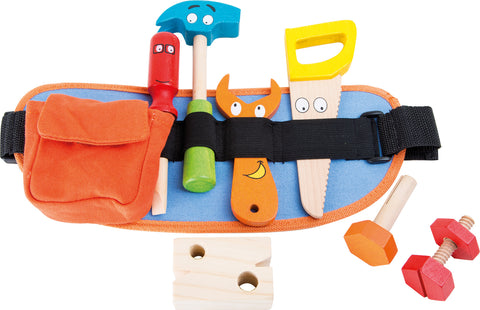 Tool Belt - child's personalised wooden tools