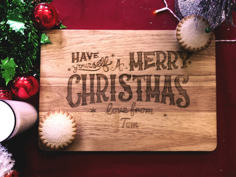 Santa Treat Board D