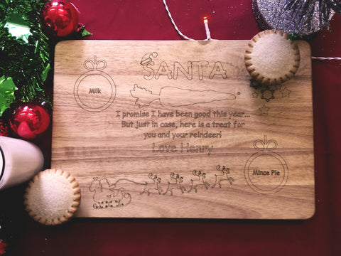 Santa Treat Board C