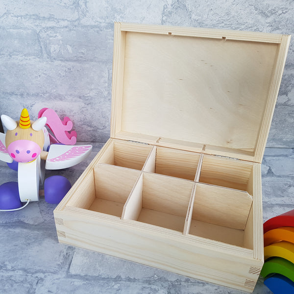 Bobbles and Bows Box unicorn design
