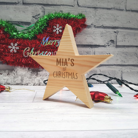 Child's Christmas Star