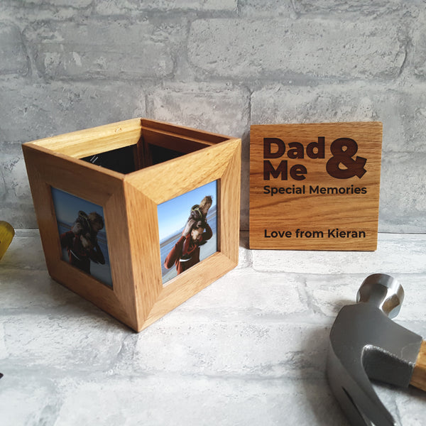 Photo Cube Frame - Mothers/Father's Day