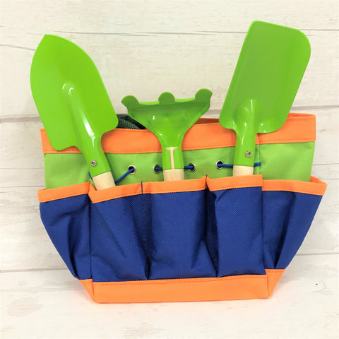 Gardening set in carry bag