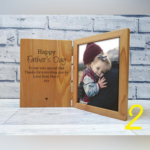 Father's Day Book Frame 2 - large