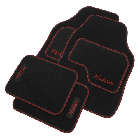 Car mats - personalised - FRONT SEATS & BACK (SET OF 4) -  (more options available)