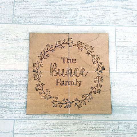 Set of 4 Coasters - Family