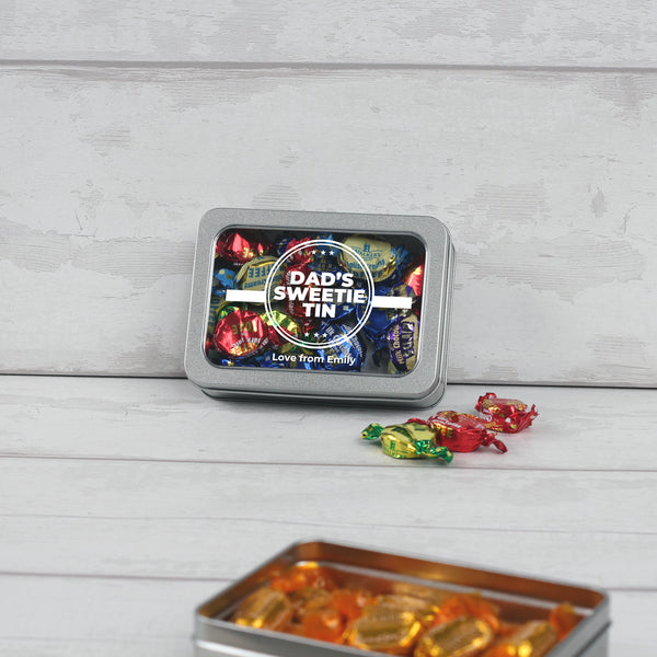 "Fathers Day ""Dads Sweetie Tin"" Gift"