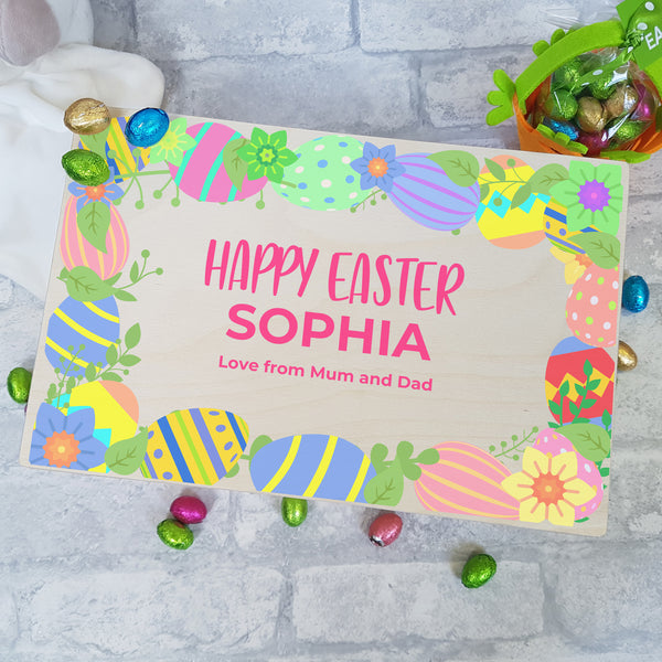 Easter Treat Box A personalised