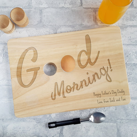 Egg Board - Good Morning Design