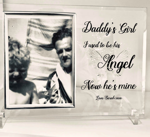Daddy's Girl Angel Frame