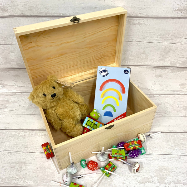 Memory Box - colour printed - fits A4 items