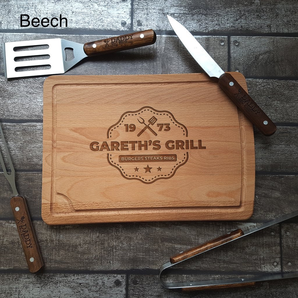 Barbecue Chopping Board