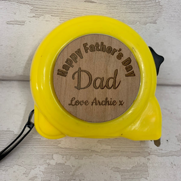 Tape Measure - 10 metre - personalised