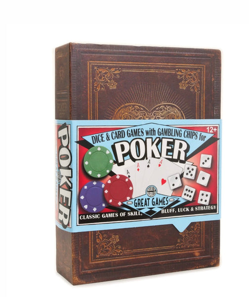 Personalised Poker, Dice & Chip Set