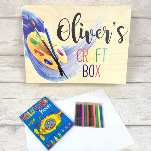 Craft box - personalised