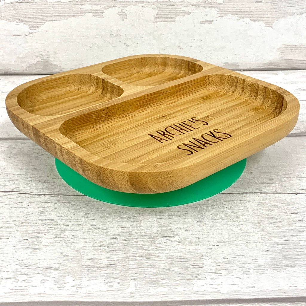 Bamboo Snack Bowl - personalised