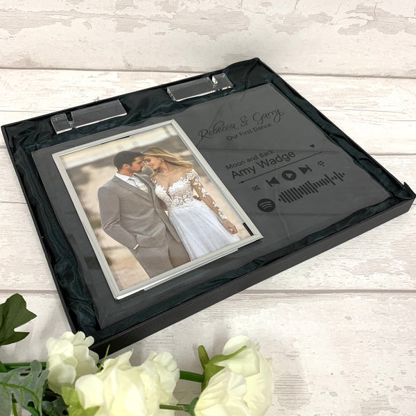 Special Song glass picture frame