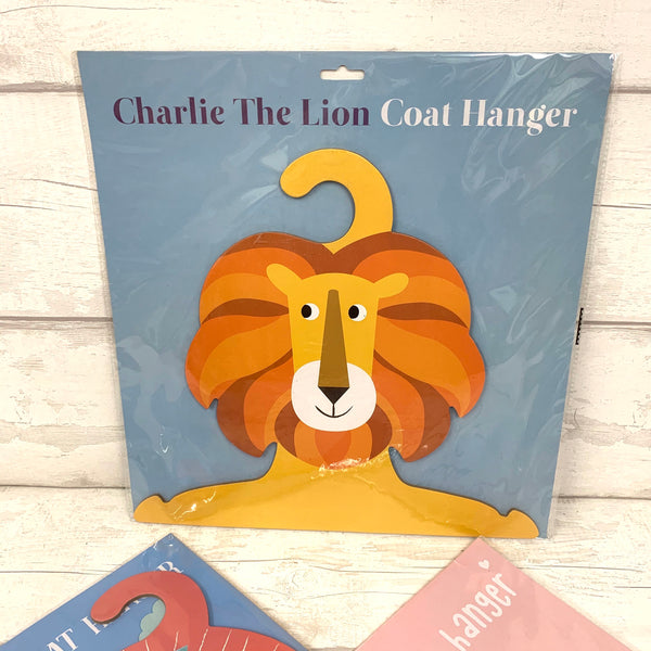 Child's personalised character coat hanger