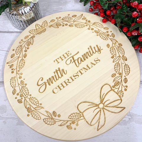Lazy Susan Christmas design