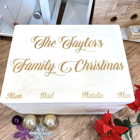 Giant Family Christmas Eve Box