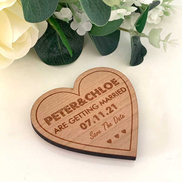 Save The Date - Cherrywood Fridge Magnet