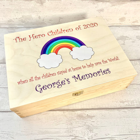 Memory Box - 2021 date - A4 UV Printed WITHOUT blue background