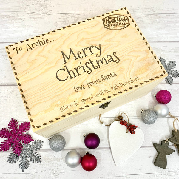 Santa Postcard - Christmas Eve Box - New Design