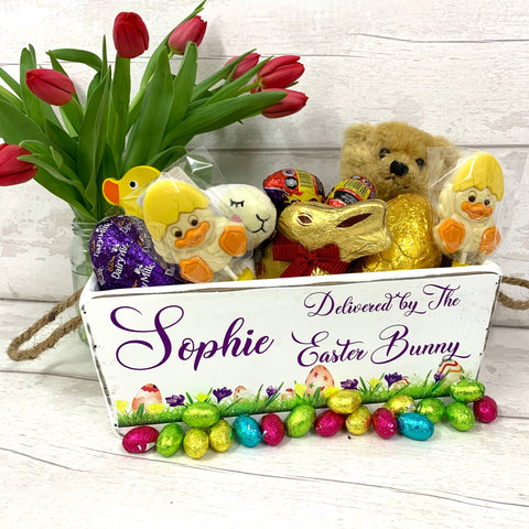 Vintage Style Easter Treat Box