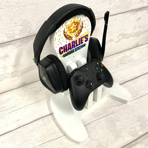 Gaming Stand for headphones and controller