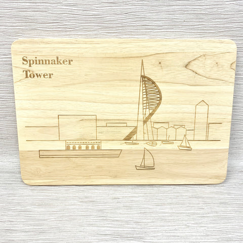 Spinnaker Tower Portsmouth Chopping Board
