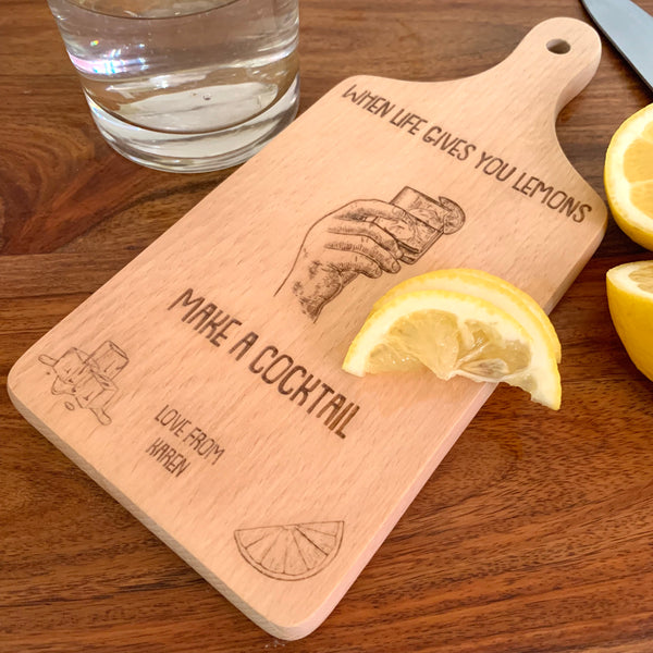 Cocktail Chopping Boards