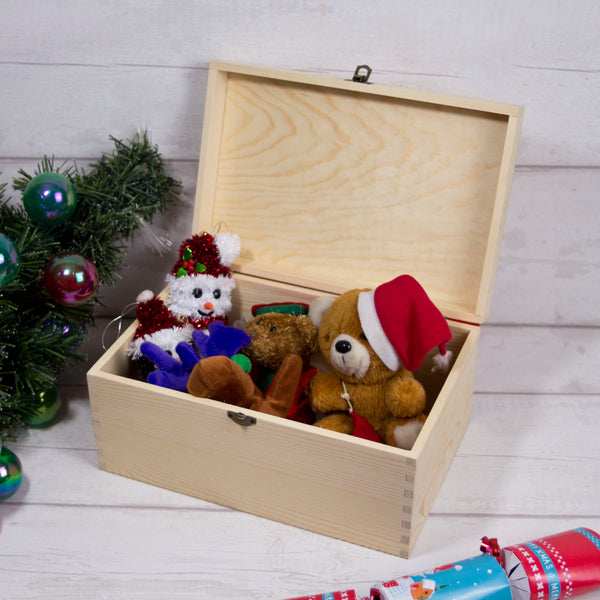 Christmas Eve Box - dangling decorations design