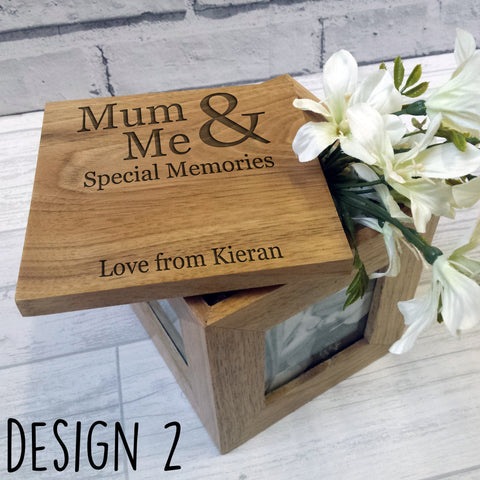 Personalised Photo Cube 2