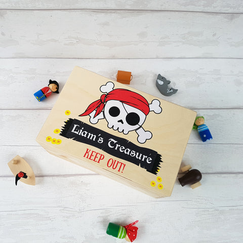 Personalised Pirate Box